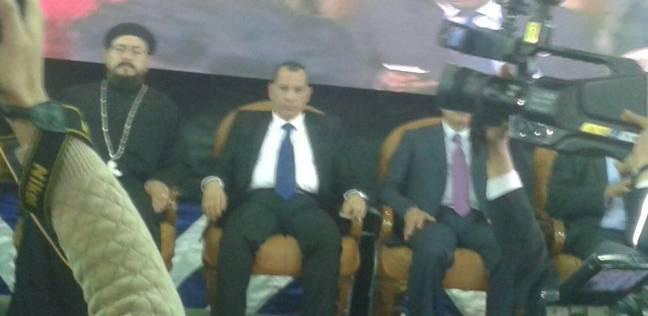 أهالي شبرا يؤكدون مشاركتهم في الانتخابات في مؤتمر جماهيري لدعم السيسي