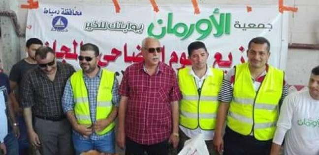 متابعة سير العمل بمجزر مجلس مدينة دمياط خلال أيام عيد الأضحى المبارك