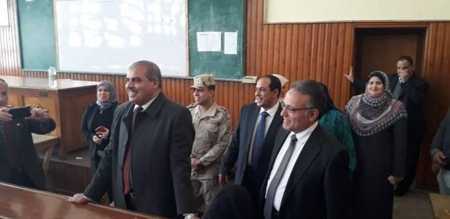 جولة لرئيس جامعة الأزهر بكلية الدراسات الإسلامية والعربية في المنصورة