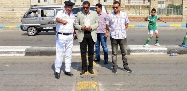 """مدير أمن الإسماعيلية يستجيب لمطلب راعي كنيسة بعمل """"مطب"""" بـ""""الثلاثيني"""""""