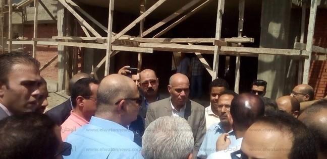 """محافظ الغربية يطالب بالانتهاء من تنفيذ مشروع رصف طريق """"المحلة- سمنود"""""""