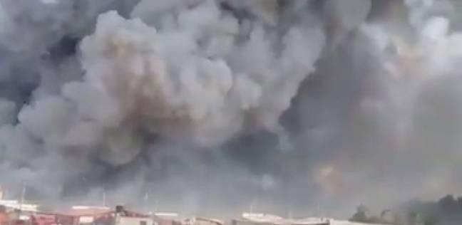 عاجل| انفجار كبير يهز مدينة العريش