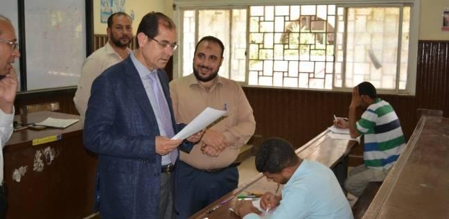نائب رئيس الأزهر يتفقد لجان امتحانات كليات الجامعة بطنطا