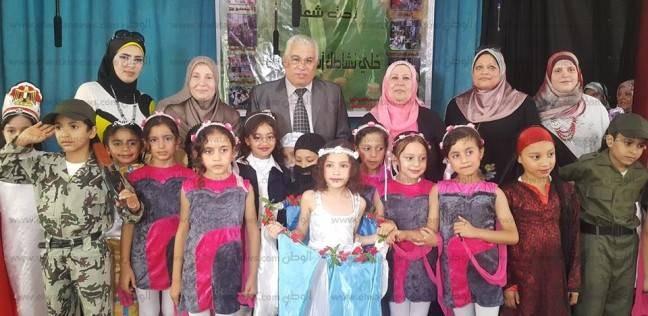 وكيل «تعليم البحيرة» يفتتح مهرجان الأنشطة الصيفية بمدرسة عمر مكرم