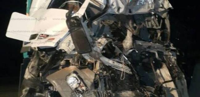 إصابة 5 أشخاص في حادث انقلاب سيارة على طريق «العلمين - وادي النطرون»