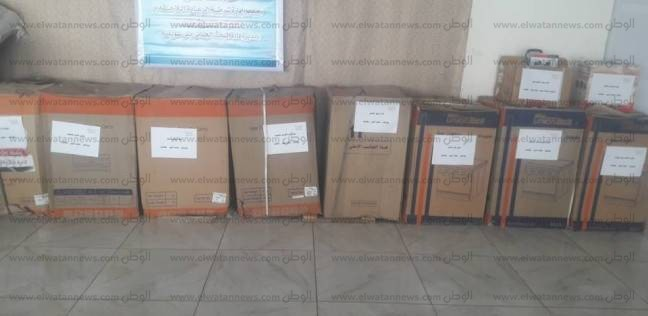 أجهزة كهربائية وبطاطين لأسر المسجونين والمفرج عنهم حديثا في بني سويف