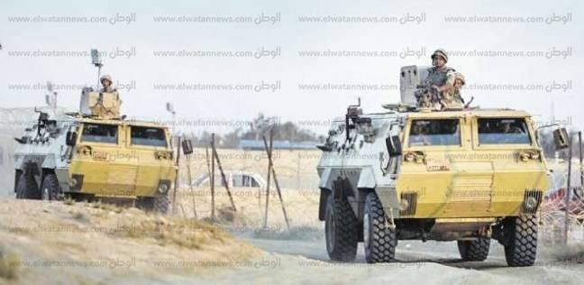 القوات الأمنية تلاحق إرهابيين بعد صد هجوم على مصنع أسمنت وسط سيناء