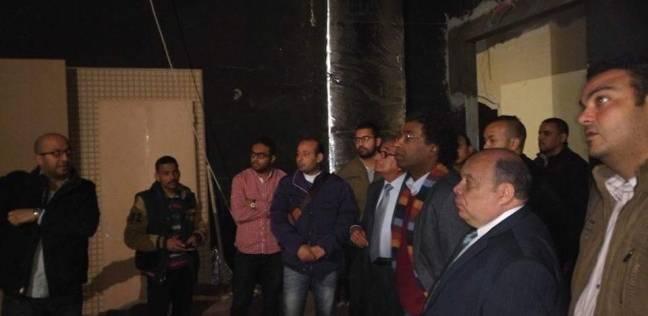 رئيس قصور الثقافة يتفقد إنشاءات قصر ثقافة دمنهور