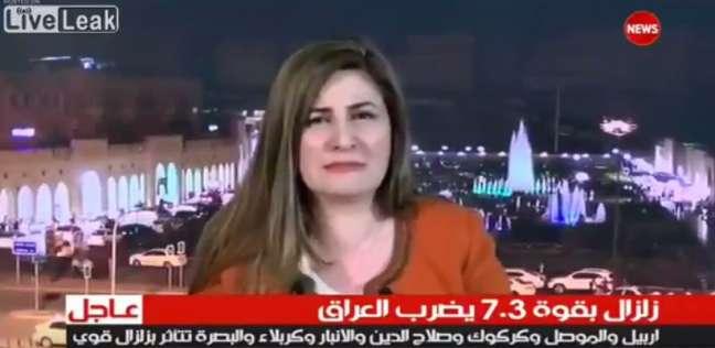 ضيفة على قناة عراقية