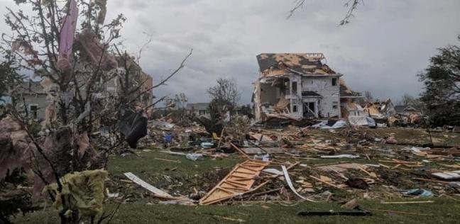 بالصور  إعصار مدمر يضرب كندا