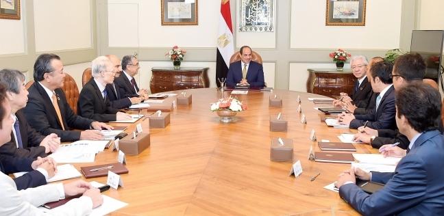 السيسي يشيد بنشاط  تويوتا  في مصر: الفرصة متاحة أمامكم للاستثمار - مصر -