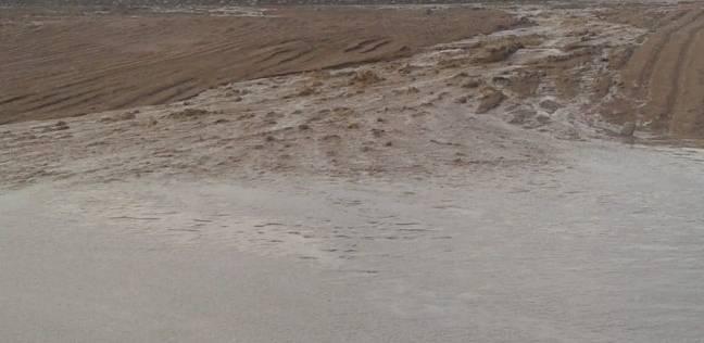 """""""الري"""": موجة سيول أولى ضربت سانت كاترين أمس في بداية موسم مبكرة"""