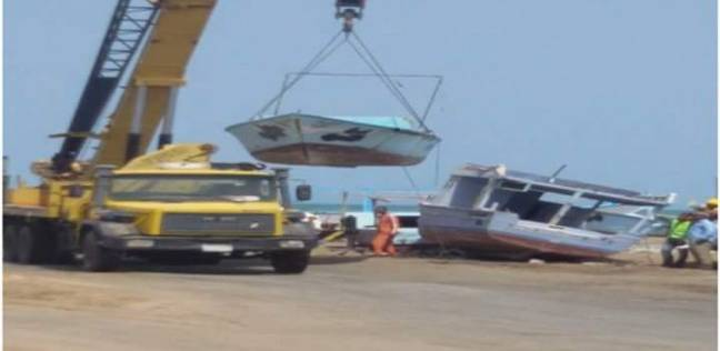 عبدالله: إنشاء ميناء صيد بالشلاتين للاستفادة من الثروة السمكية