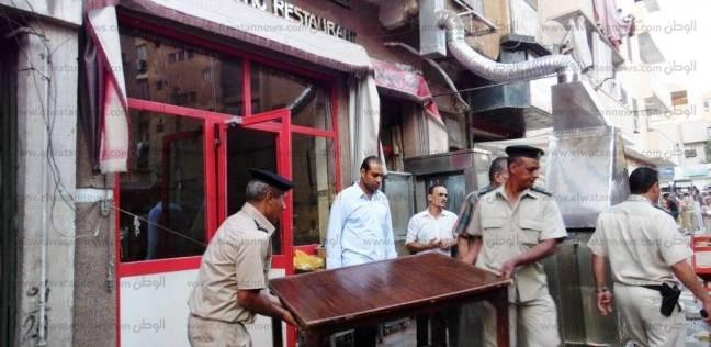 """""""أمن القاهرة"""" ينفذ 650 قرار إزالة إدارية ويحرر 115 محضر إشغال طريق"""