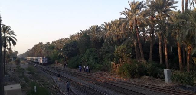 """""""السكة الحديد"""": ارتفاع درجات الحرارة لم يؤثر على حركة تشغيل القطارات"""