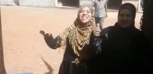 """مواطنة بالزغاريد: """"انتخبت السيسي علشان يعين عريسي"""""""