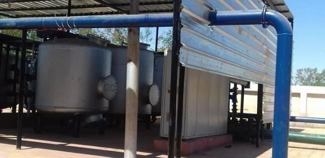 سحب 201 عينة مياه من محطات الوادي الجديد للتأكد من صلاحيتها