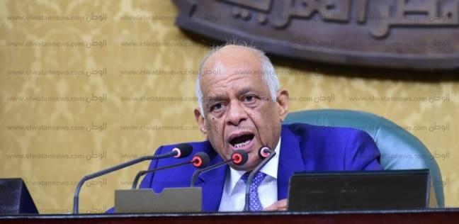 """رئيس """"النواب"""" يدلي بصوته في الجامعة العمالية بمدينة نصر"""