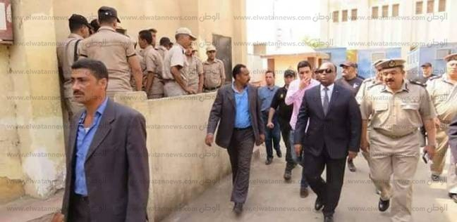 بالصور| مدير أمن الغربية يتفقد الخدمات الأمنية بشوارع المحلة