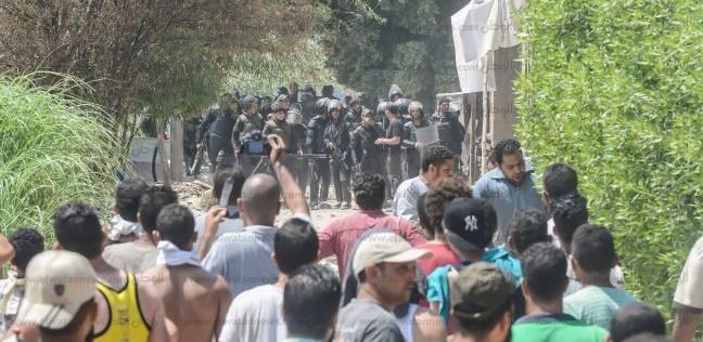 مصابو الشرطة باشتباكات الوراق للنيابة: فوجئنا بإطلاق الخرطوش علينا