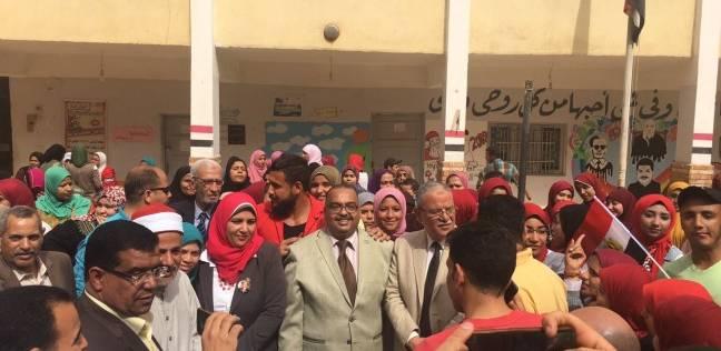 200 طالب بجامعة المنيا يدلون بعد بأصواتهم في الانتخابات الرئاسية