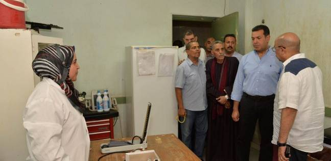 حملات مكثفة على الوحدات الصحية والمخابز بمركز منفلوط