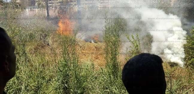 قوات الحماية المدنية تسيطر على حريق داخل المركز الدولي بالإسكندرية