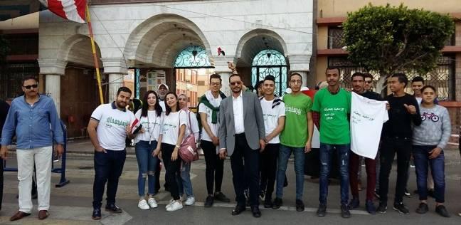 مسيرات لحث المواطنين على المشاركة في الانتخابات الرئاسية ببورسعيد
