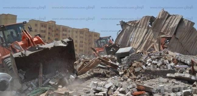 أمن كفر الشيخ ينفذ 18 قرار إزالة تعديات على الأرض الزراعية