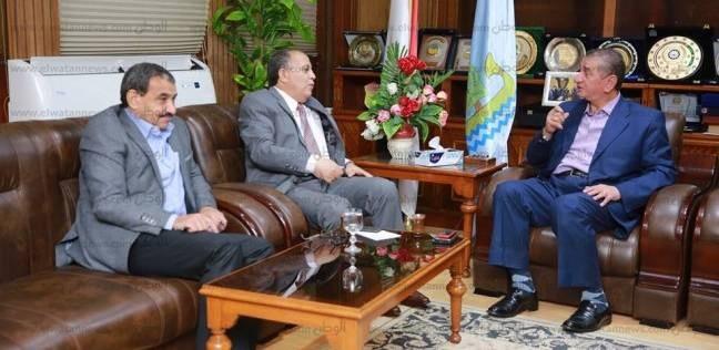 محافظ كفر الشيخ ومدير الأمن يبحثان سبل إزالة التعديات على الأراضي
