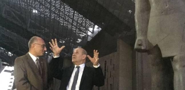 توفيق: زيارة وزير خارجية فرنسا للمتحف دليل على استتباب الوضع الأمني