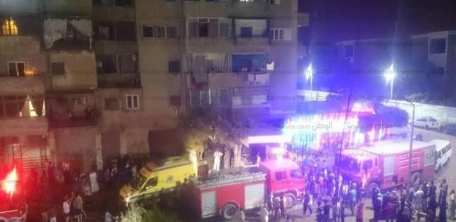 مصرع 3 أشقاء في حريق هائل داخل شقتهم بالسلام