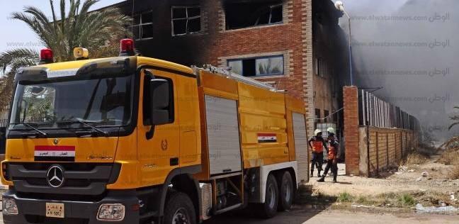 إخماد حريق اندلع بسبب ماس كهربائي دون إصابات بمنزل في المنيا