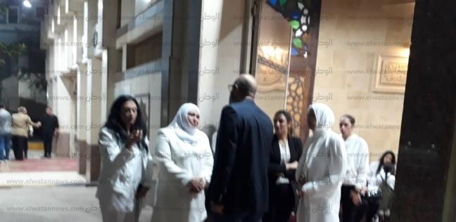 وصية الكابتن محمد الحلو ارتداء بناته اللون الأبيض