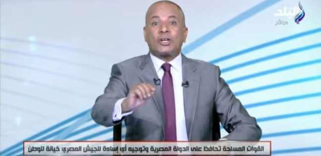 """أحمد موسى: """"الإخوان"""" تخابرت مع أجهزة مخابرات كثيرة في """"اقتحام الحدود"""""""