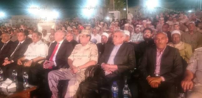 انطلاق احتفالية أسوان بالذكرى الخامسة لثورة 30 يونيو