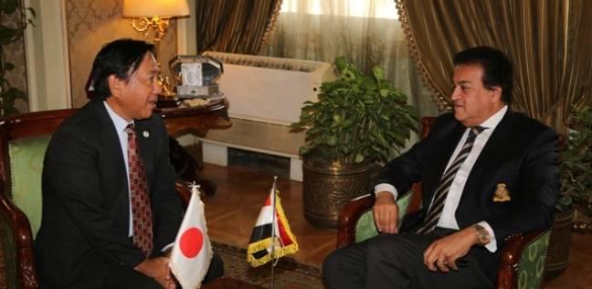 """""""عبد الغفار"""" يعتمد نتيجة منح المرحلة الثانية لـ """"المصرية اليابانية"""""""