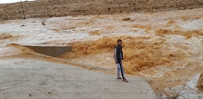 محافظ مطروح: خطة شاملة لتفادي خطر السيول على مستوى جميع مدن الإقليم