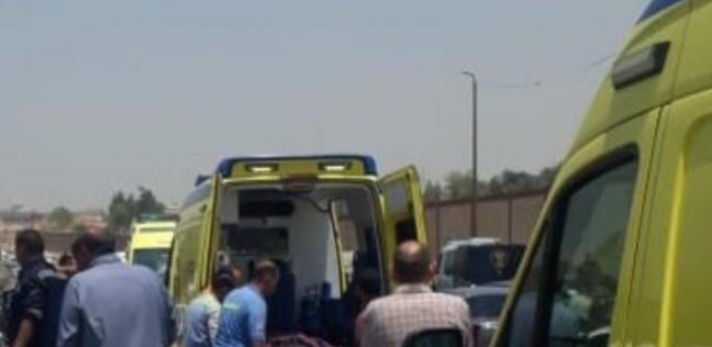 إصابة 6 من أسرة واحدة في تصادم سيارتين بالبحيرة