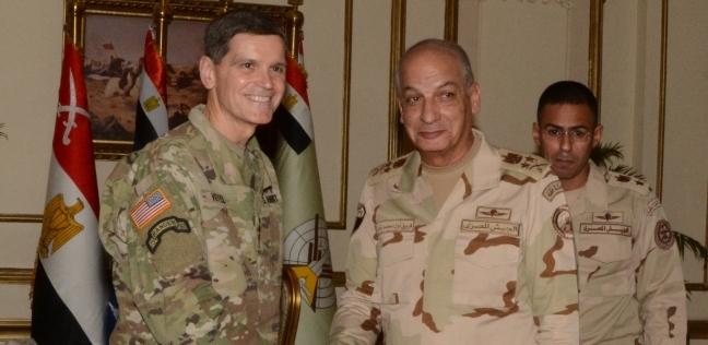 قائد القوات المسلحة ورئيس الأركان يلتقيان قائد القيادة الأمريكية