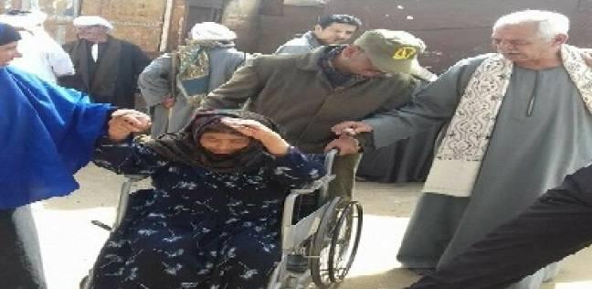 شمال الصعيد: سلاسل بشرية وشرطة نسائية.. و«النور» يحشد السيدات