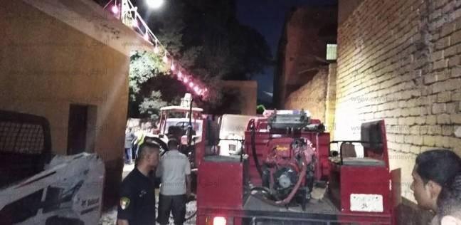 إخماد حريق شب في شقة بالعمرانية بسبب ماس كهربائي