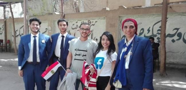 """حملة """"دعم مصر"""" بحدائق القبة: """"لو احنا مانزلناش مين اللي هينزل؟"""""""