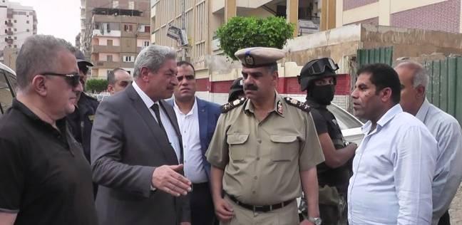 مدير أمن الدقهلية يتفقد نقل موقف سيارات نبروه لتحقيق السيولة المرورية