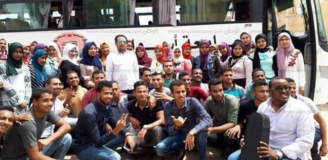 رئيس جامعة أسوان يحث الطلاب على المشاركة بالانتخابات الرئاسية