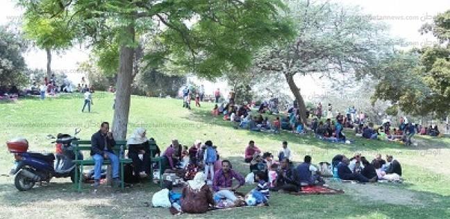 حدائق القناطر الخيرية تستعد لاستقبال المواطنين في عيد الفطر المبارك