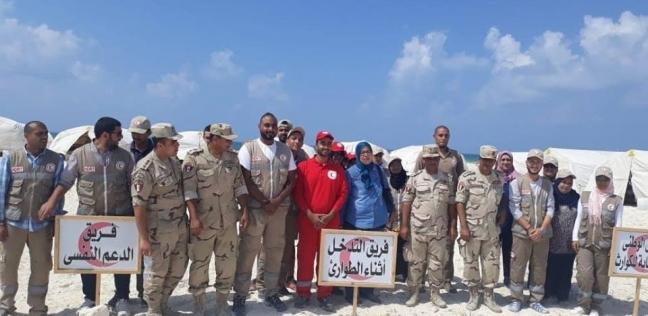 """انتهاء التدريب العملي لمجابهة الأزمات والكوارث """"صقر 32"""" بالإسكندرية"""