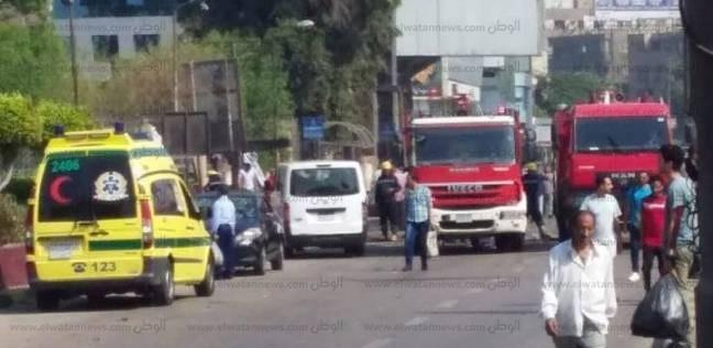 """عاجل  رفع آثار """"حادث الدقي"""".. وتسيير حركة المرور"""