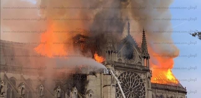 من الشرارة الأولى إلى الإطفاء.. القصة الكاملة لحريق كاتدرائية نوتردام