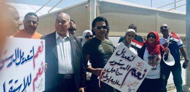 المصريون يبدأون التصويت على التعديلات الدستورية في الإمارات